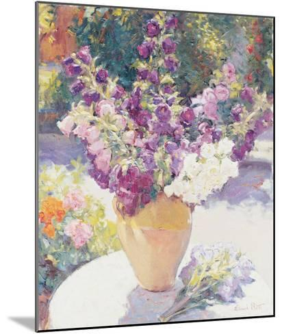 Flower Vase-Edward Noott-Mounted Art Print