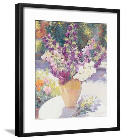 Flower Vase-Edward Noott-Framed Art Print