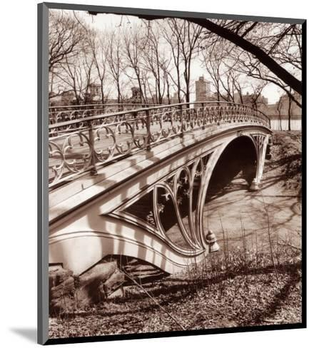 Central Park Bridge III-Christopher Bliss-Mounted Art Print