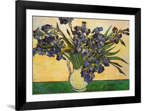 Vase of Irises, c.1890-Vincent van Gogh-Framed Art Print