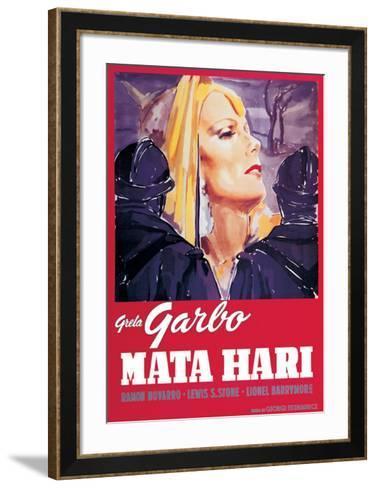 Mata Hari--Framed Art Print