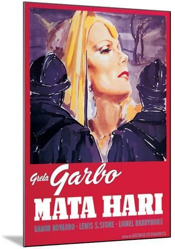 Mata Hari--Mounted Art Print