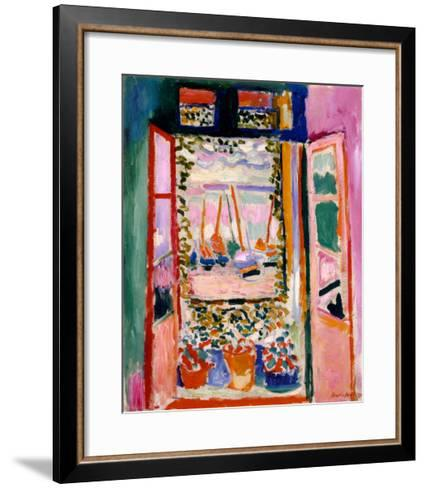Open Window, Collioure, 1905-Henri Matisse-Framed Art Print