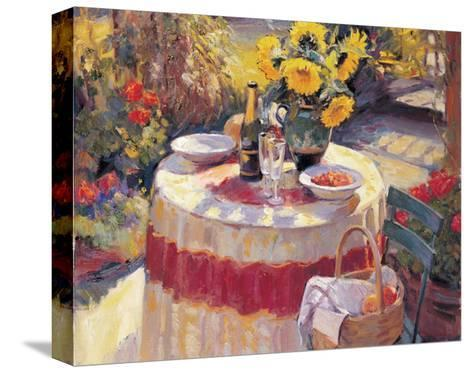 Red Table-Edward Noott-Stretched Canvas Print