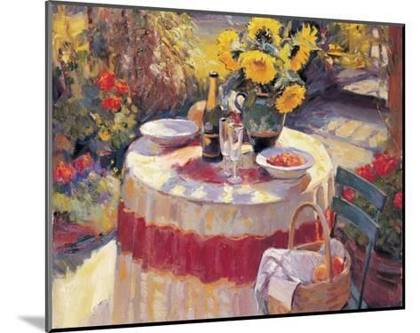 Red Table-Edward Noott-Mounted Art Print