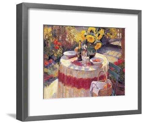 Red Table-Edward Noott-Framed Art Print