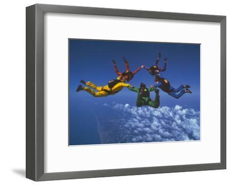 Teamwork--Framed Art Print