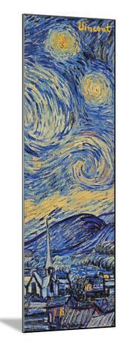 Starry Night, c.1889 (detail)-Vincent van Gogh-Mounted Poster