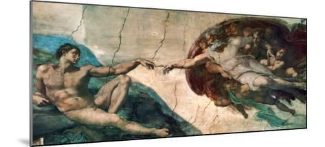 Creation of Adam-Michelangelo Buonarroti-Mounted Art Print