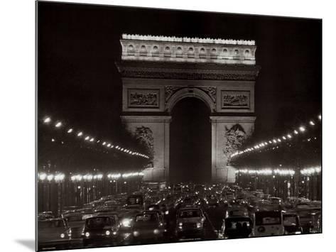 Arc de Triomphe--Mounted Art Print