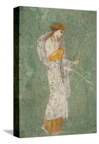 Pompei Diana--Stretched Canvas Print