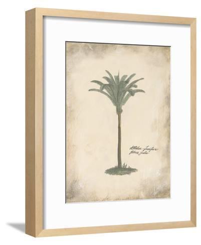 Fibres Palm-Hewitt-Framed Art Print