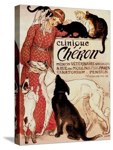 Clinique Cheron, c.1905-Th?ophile Alexandre Steinlen-Stretched Canvas Print