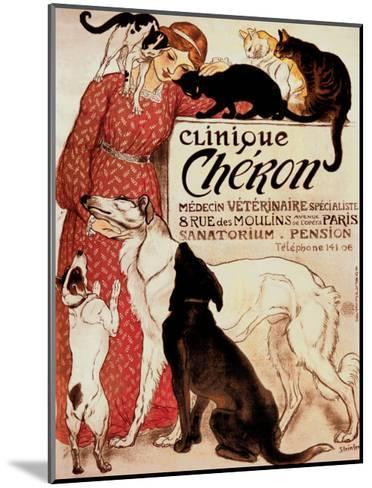 Clinique Cheron, c.1905-Th?ophile Alexandre Steinlen-Mounted Art Print