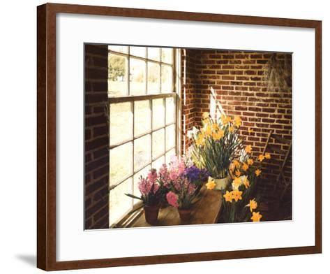 Flower House Morning-Philbeck-Framed Art Print