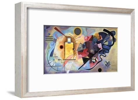 Yellow, Red, Blue, 1925-Wassily Kandinsky-Framed Art Print