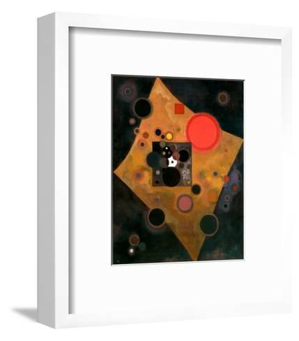 Accent en Rose, 1926-Wassily Kandinsky-Framed Art Print
