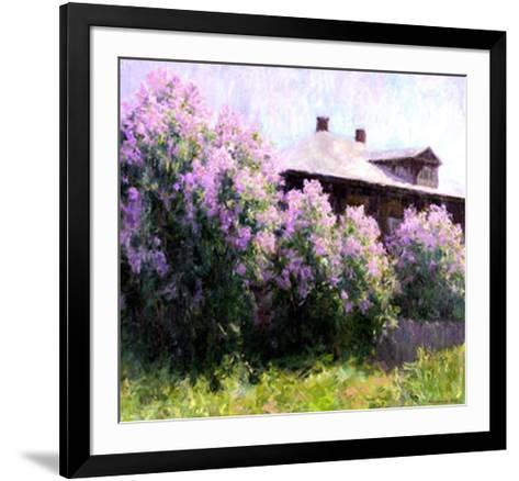 Sunny Morning-Alexander Kosnichev-Framed Art Print