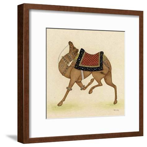 Camel from India I-Ram Babu-Framed Art Print