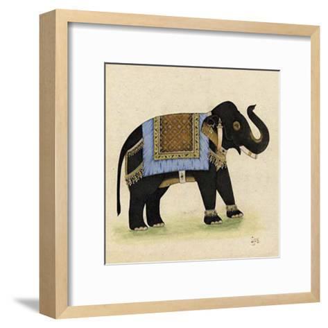 Elephant from India I--Framed Art Print