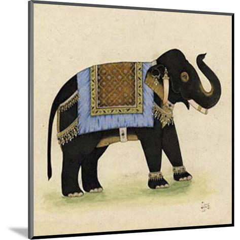 Elephant from India I--Mounted Giclee Print