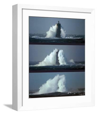 Le Phare du Four III-Philip Plisson-Framed Art Print