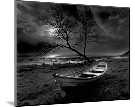 Boat on Top of the Cliff-Olivier Meriel-Mounted Art Print