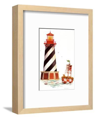 Seal Harbor Light-Lisa Danielle-Framed Art Print