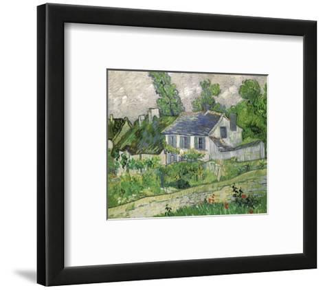 Houses at Auvers, c.1890-Vincent van Gogh-Framed Art Print