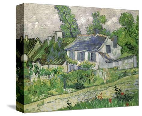 Houses at Auvers, c.1890-Vincent van Gogh-Stretched Canvas Print