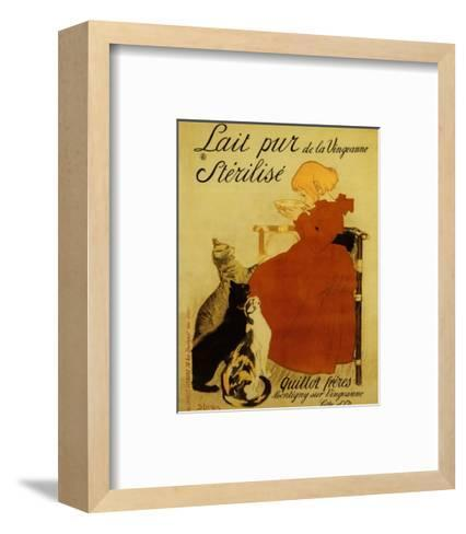 Nestle's Milk-Th?ophile Alexandre Steinlen-Framed Art Print