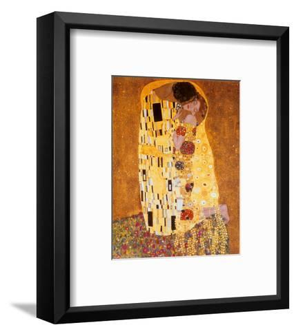 The Kiss, c.1907-Gustav Klimt-Framed Art Print