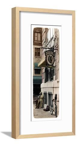 Street Musician-Jean Onesti-Framed Art Print