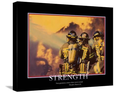 Strength--Stretched Canvas Print