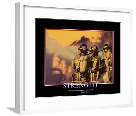 Strength--Framed Art Print