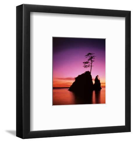Persistence: Sunset--Framed Art Print