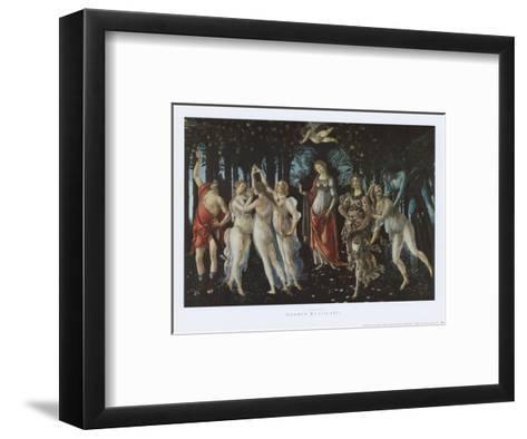 Primavera-Sandro Botticelli-Framed Art Print