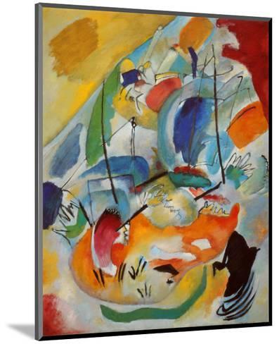 Improvisation No. 31, Sea Battle, c.1913-Wassily Kandinsky-Mounted Art Print