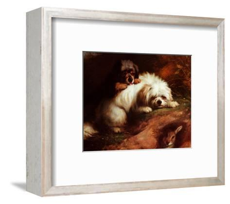 Playful Encounter-Thomas Earl-Framed Art Print
