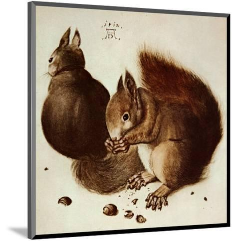 Squirrels-Albrecht D?rer-Mounted Art Print