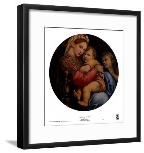 Madonna of the Chair-Raphael-Framed Art Print