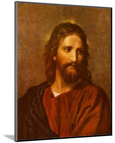 Christ at Thirty-Three-Heinrich Hofmann-Mounted Art Print