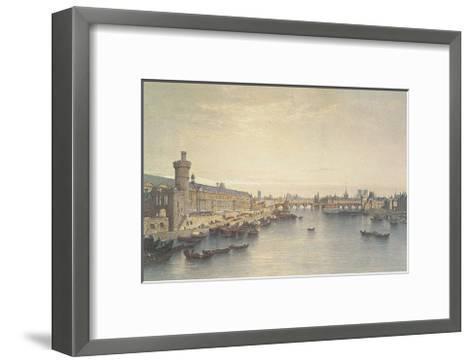 Paris, 1650-G^Ph^ Benoist-Framed Art Print