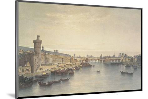Paris, 1650-G^Ph^ Benoist-Mounted Art Print