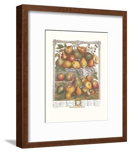 Twelve Months of Fruits, 1732, January-Robert Furber-Framed Art Print