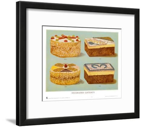 Decorated Gateaux, Occasion--Framed Art Print