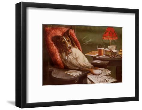 Bachelor's Dog-Cassius Marcellus Coolidge-Framed Art Print