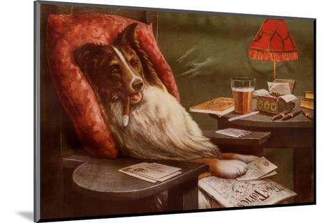 Bachelor's Dog-Cassius Marcellus Coolidge-Mounted Art Print