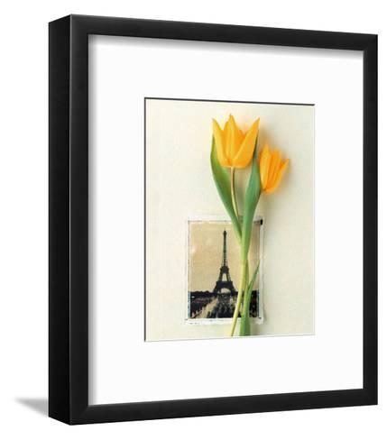 Tulip, Euro-Floral-Dorothy Gaubert Pyle-Framed Art Print