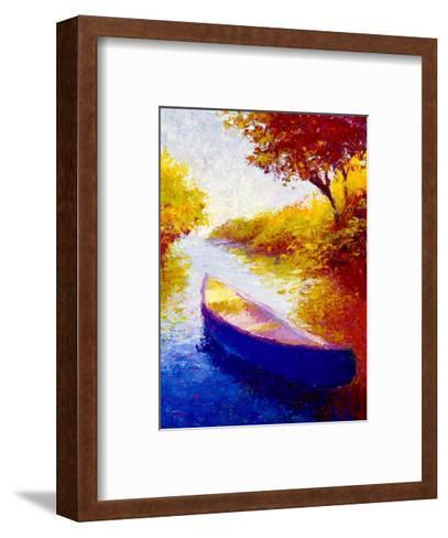 Salmon River-Gail Wells-Hess-Framed Art Print